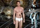 Il video di Neil Patrick Harris in mutande agli Oscar