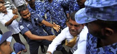 L'ex presidente delle Maldive è stato arrestato