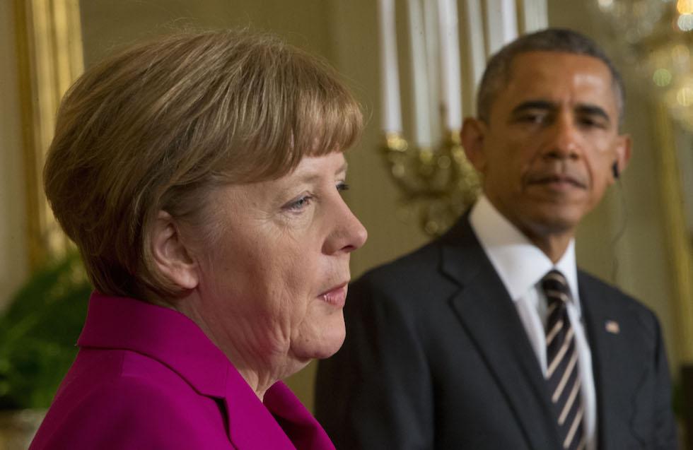 Incontro tra Obama e Merkel