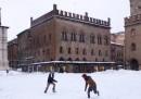 Le foto di Bologna con la neve