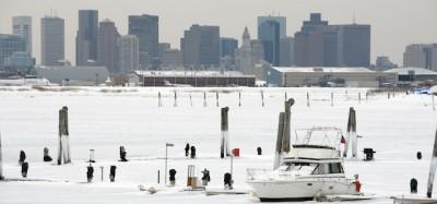Le foto di Boston coperta di neve