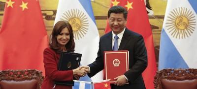 Il tweet di Cristina Kirchner sui cinesi