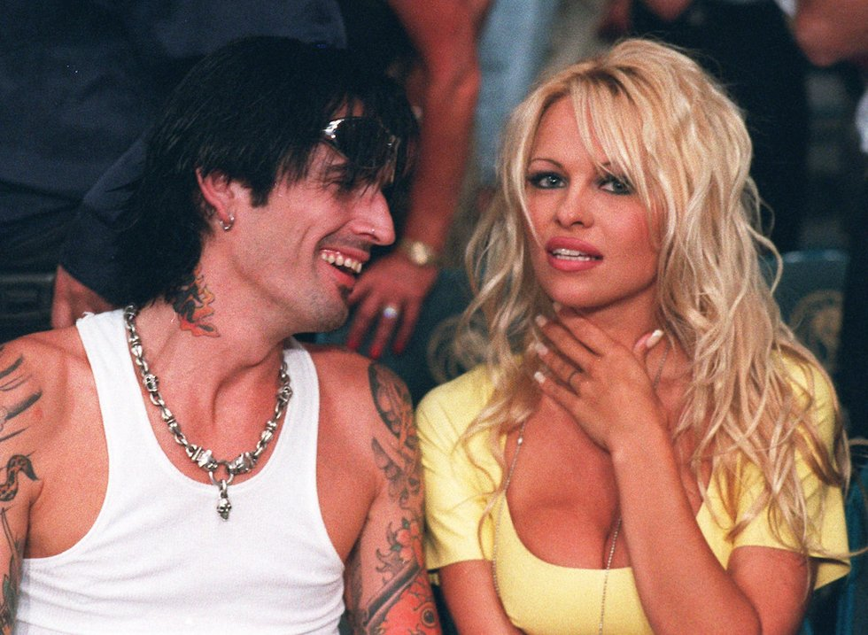 pamela anderson and bret