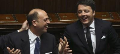 Alfano su Twitter: «Ha eliminato più comunisti Renzi in 2 anni che Berlusconi in 20 anni»