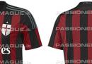 La nuova maglia del Milan per la stagione 2015-2016, in anteprima