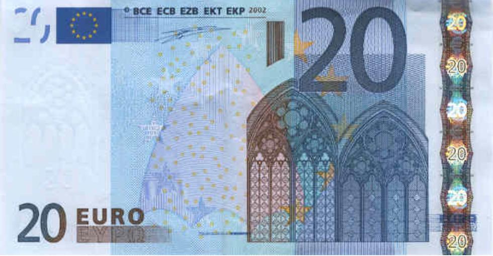 Risultati immagini per 20 euro