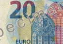 I nuovi 20 euro