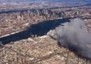 Le foto del grande incendio a Brooklyn