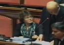 Il video dell'intervento di Giorgio Napolitano in Senato sulla Libia
