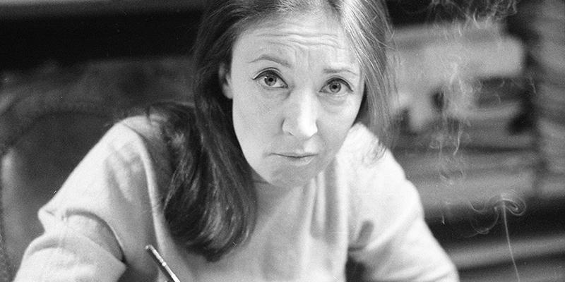 La storia di Oriana Fallaci, quella vera - Il Post
