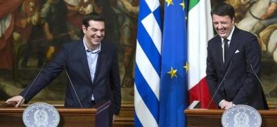 Cosa dice Renzi sulla Grecia