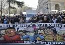 Le foto delle manifestazioni di sabato a Roma