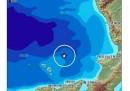 C'è stato un terremoto in mare di magnitudo 4.7 a sud dell'isola di Stromboli, avvertito in parte della Calabria e della Sicilia