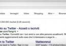 Google mostrerà i tweet nei suoi risultati
