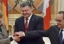 Hollande e Merkel sono in Ucraina