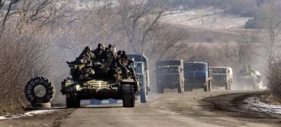 L'esercito ucraino si è ritirato da Debaltseve