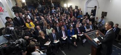 Le gerarchie della sala stampa della Casa Bianca
