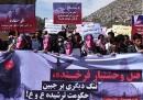 Le proteste delle donne a Kabul