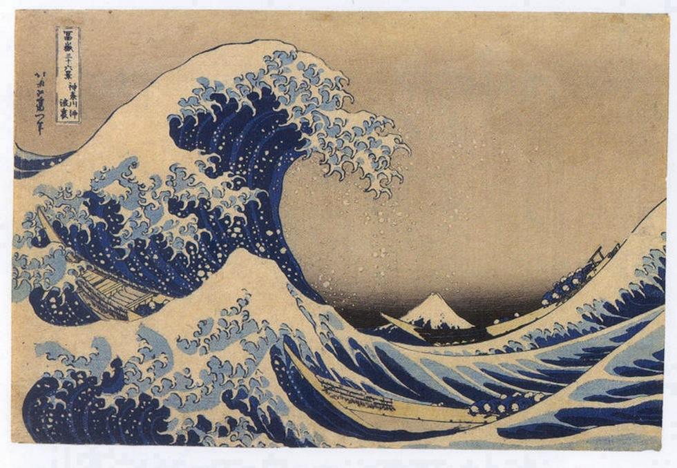 """Perché la """"Grande onda"""" di Hokusai è così famosa - Il Post"""
