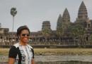 Le foto di Michelle Obama in Cambogia