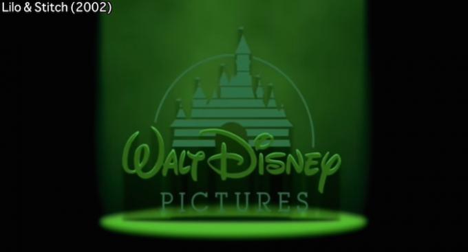 Tutte le variazioni del logo di Disney