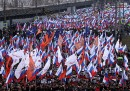 Le foto della manifestazione di Mosca