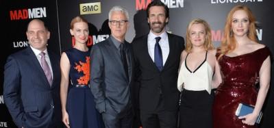 """La proiezione di """"Mad Men"""" al MoMA – foto"""