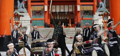 Le foto di Michelle Obama in Giappone