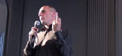Il dito medio di Varoufakis