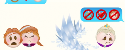 """""""Frozen"""", fatto con gli emoji"""