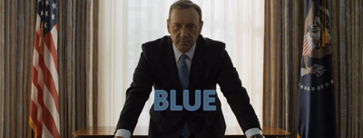 "I colori di ""House of Cards"""