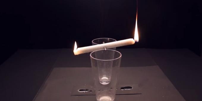Dieci trucchi con il fuoco