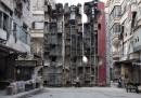 Le barricate fatte con gli autobus, ad Aleppo