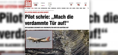 Cosa dice la Bild sulle registrazioni del volo Germanwings