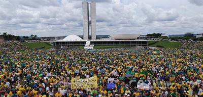Le manifestazioni contro Dilma Rousseff