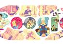 Il doodle per la Giornata Internazionale della donna