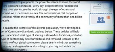 Cosa non si può pubblicare su Facebook