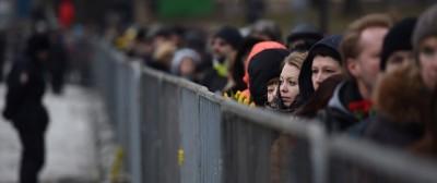 Il funerale di Boris Nemtsov