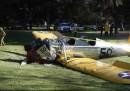 Harrison Ford è rimasto ferito in un incidente aereo