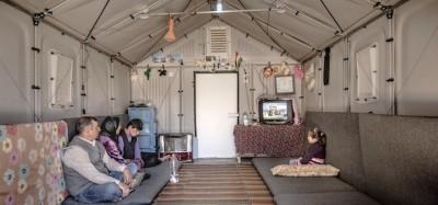 Le strutture per i profughi progettate da IKEA
