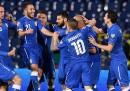 Italia-Inghilterra è finita 1-1
