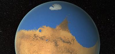 Su Marte c'era un oceano