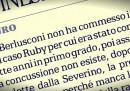 """""""Silvio Berlusconi non ha commesso i due reati del caso Ruby"""""""