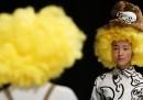 Modelli e modelle disabili alle sfilate di Tokyo