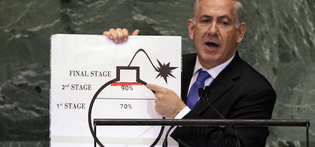 Risultati immagini per iran netanyahu