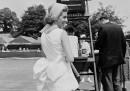 Lea Pericoli At Wimbledon