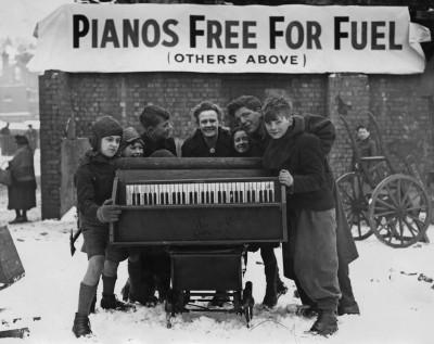 Un pianoforte per scaldarsi