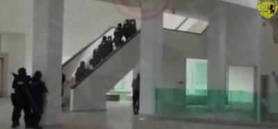 Il video dell'operazione nel Museo del Bardo