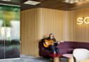 I nuovi uffici di Sony Music a Madrid