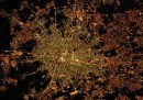 I led di Milano visti dallo spazio
